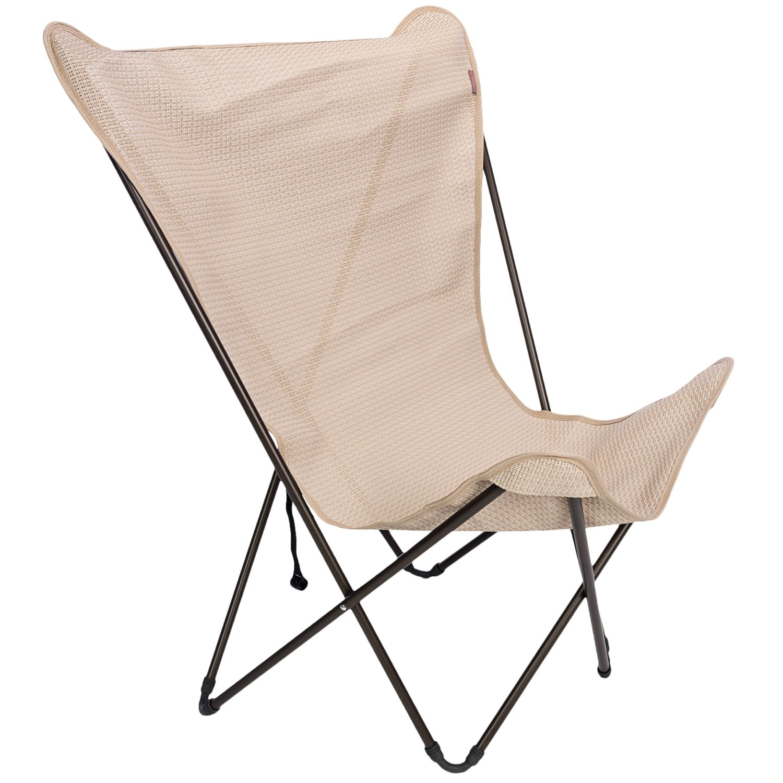 pop up chair aeron headrest review lafuma maxi folding polyester polyvinyl