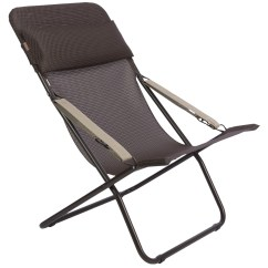 Foldable Lounge Chair Geometric Design Lafuma Transabed Xl Folding Batyline