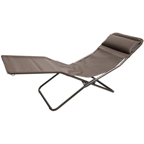 Lafuma Transalounge Folding Recliner Chair - Save 26