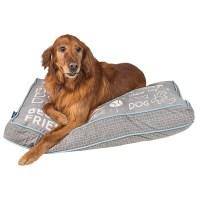Max Studio Chalkboard Rectangle Dog Bed - 40x28 - Save 41%