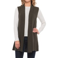 Max Studio Shawl Collar Cardigan Sweater Vest (For Women ...