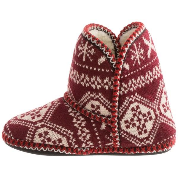Muk LUKS Slipper Boots Women