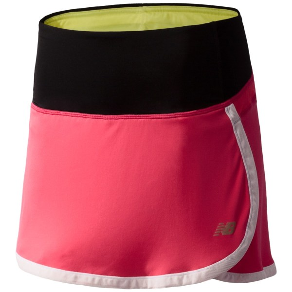 Balance Impact Running Skirt - Built-in Liner Shorts Women In Watermelon With Black