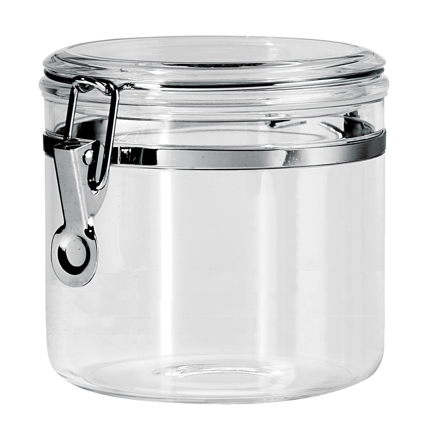 clear kitchen canisters essentials by calphalon oggi acrylic canister 38 oz save 42