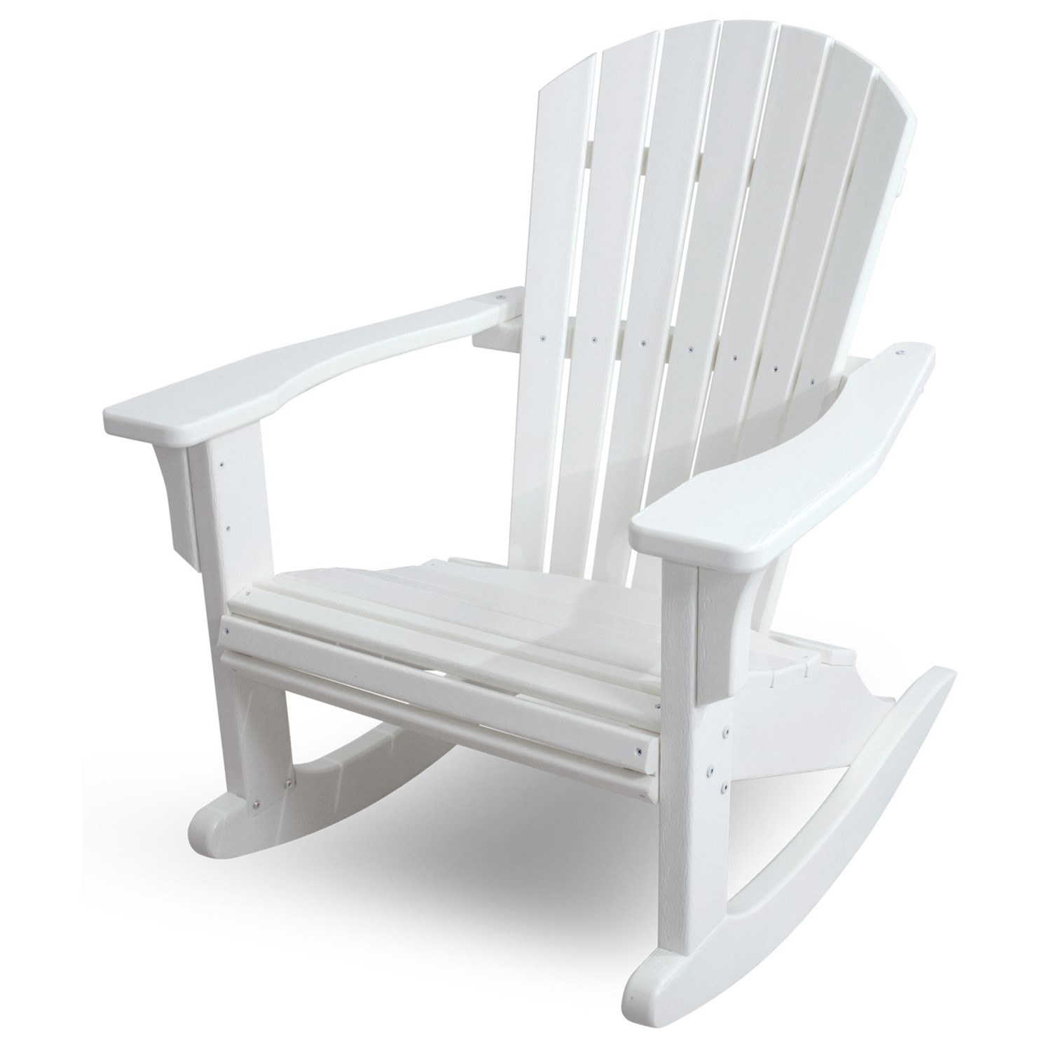 Polywood Rocking Chairs Polywood Seashell Adirondack Rocking Chair Save 31