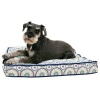 Cynthia Rowley Tile Medallion Rectangle Dog Bed - Medium ...