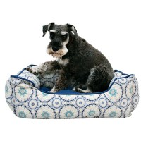 Cynthia Rowley Tile Medallion Cuddler Dog Bed - 24x19 ...