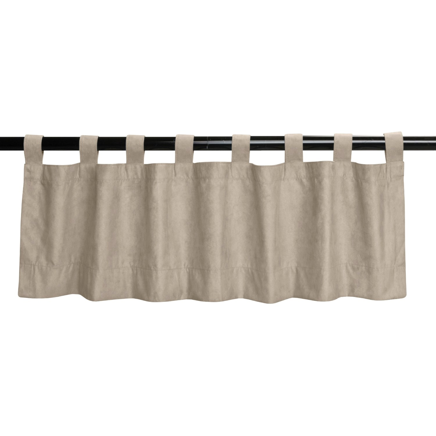 Commonwealth Home Fashions Blackout Curtain Valance