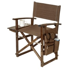 Picnic Time Chairs Chair Cushions Indoor Director Driftwood Edition 3337u