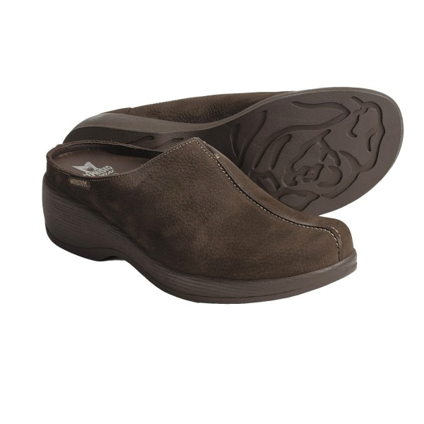 Mephisto Gorgeous Leather Clogs Women 3637k - Save 35