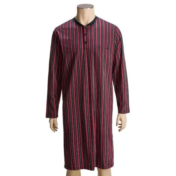 Men Nightshirt Long Sleepwear Cotton