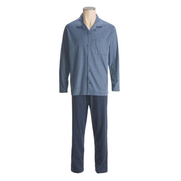 Men Nightshirt Long Pajamas