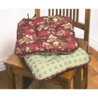 Just right - Waverly Reversible Chair Pads - Set of 2 ...