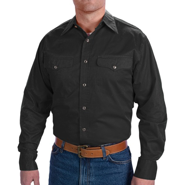 Walls Ranchwear Snap Front Shirt Men 7315x - Save 80
