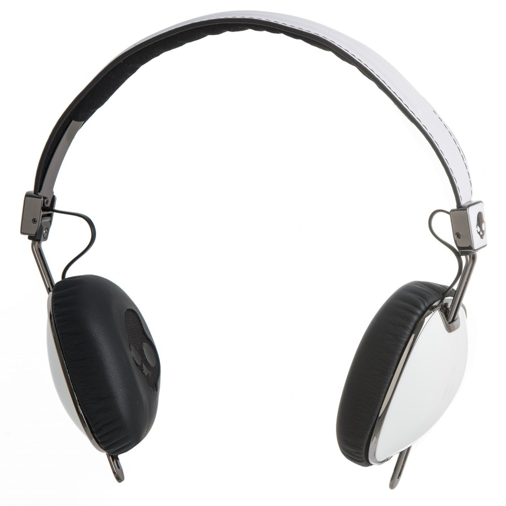 medium resolution of skullcandy navigator wired headphones with mic in white black click to expand
