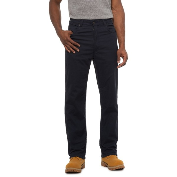 Smith' Workwear Fleece-lined Stretch Canvas Work Pants