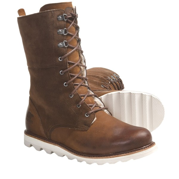 Women's Leather Work Boots