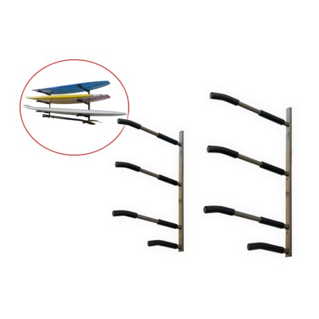 SpareHand Systems 3-Tier SUP and Surfboard Wall Mount Rack