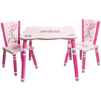 Teamson Princess Table and Chairs Set - Save 43%