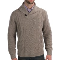 Shawl Collar Cardigan Sweaters For Men