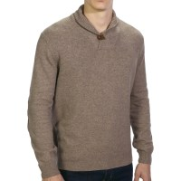 Shawl Collar Sweater For Men