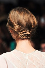 stylish pulled hairstyles