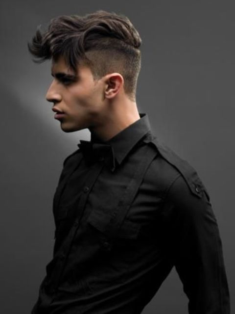 16 Cool Shaved Side Hairstyles For Men Styleoholic