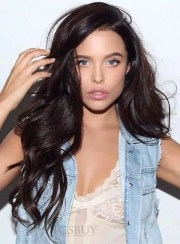 chic dark hair ideas