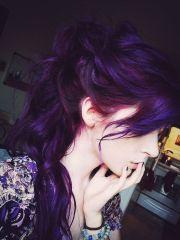 bold purple hair ideas daring