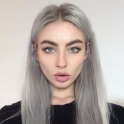 trendy grey hair color ideas