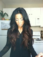 chic dark hair ideas