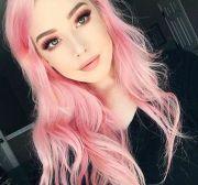 bubble gum pink long