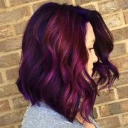 magenta hair ideas stand