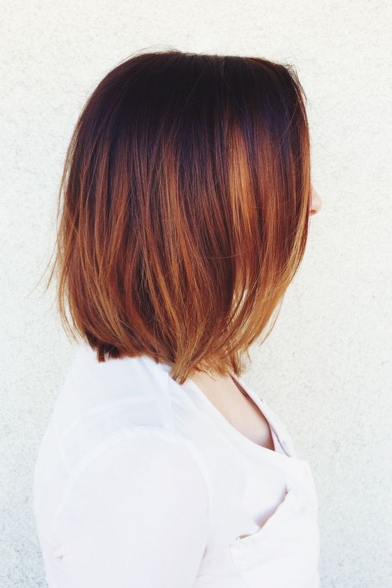 Caramel Balayage Highlights Straight Hair 26 Bold And Chic Copper Hair Ideas Styleoholic