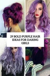 29 Bold Purple Hair Ideas For Daring Girls - Styleoholic