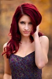 bright red hair ideas