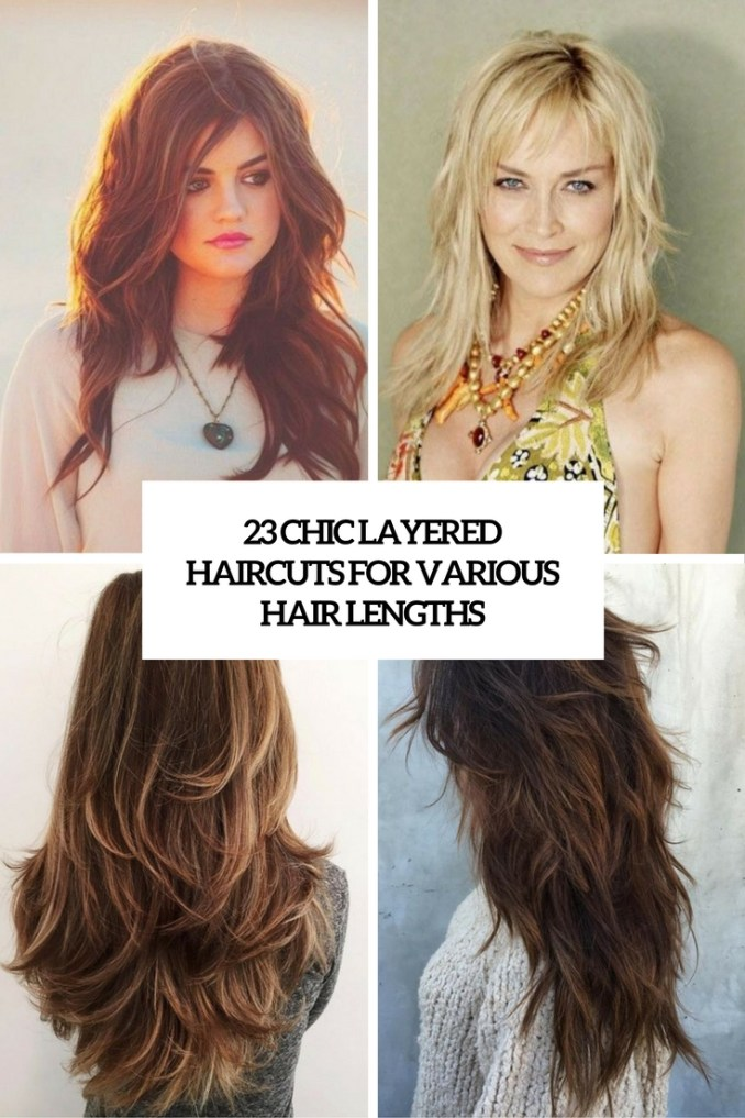 23 chic layered haircuts for various hair lengths - styleoholic