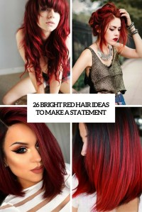 26 Bright Red Hair Ideas To Make A Statement