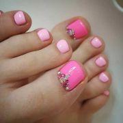 toe nails design fit