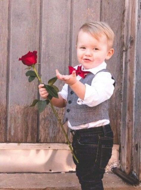 14 Ideas To Dress Up A Little Boy For Valentines Day