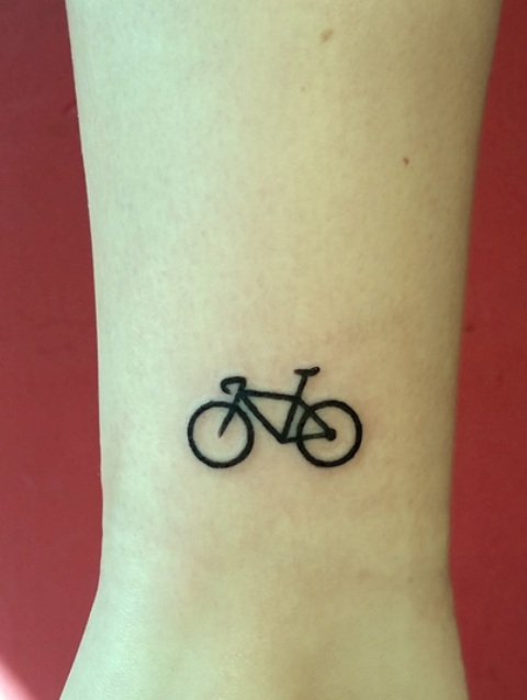 21 Small Bicycle Women Tattoo Ideas To Repeat  Styleoholic