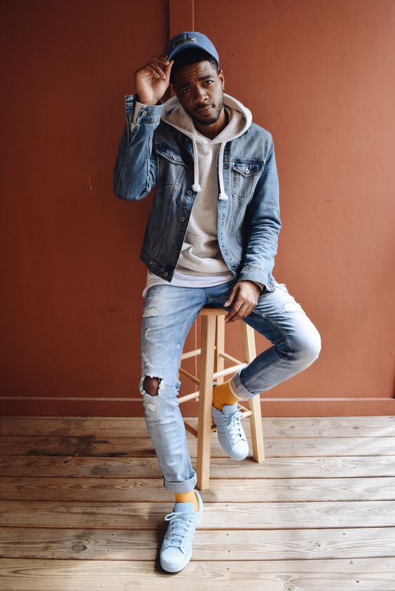 20 Men Looks With A Denim Jacket To Wear This Spring - Styleoholic