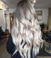 ashy grey hair