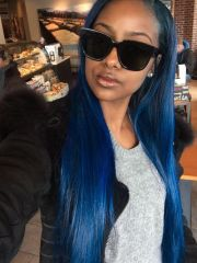 mermaid blue hair ideas