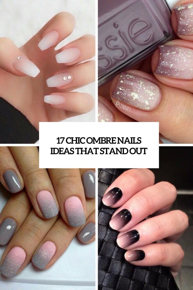 Grey Ombre Nails : ombre, nails, Ombre, Nails, Ideas, Stand, Styleoholic