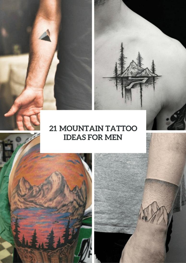 Mountain Armband Tattoo : mountain, armband, tattoo, Stunning, Mountain, Tattoo, Ideas, Styleoholic