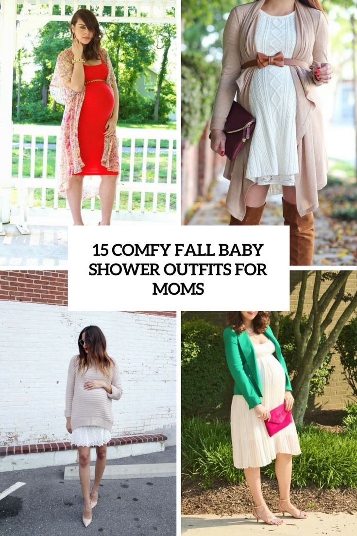 Baby Shower Outfit For Mom : shower, outfit, Comfy, Shower, Outfits, Styleoholic