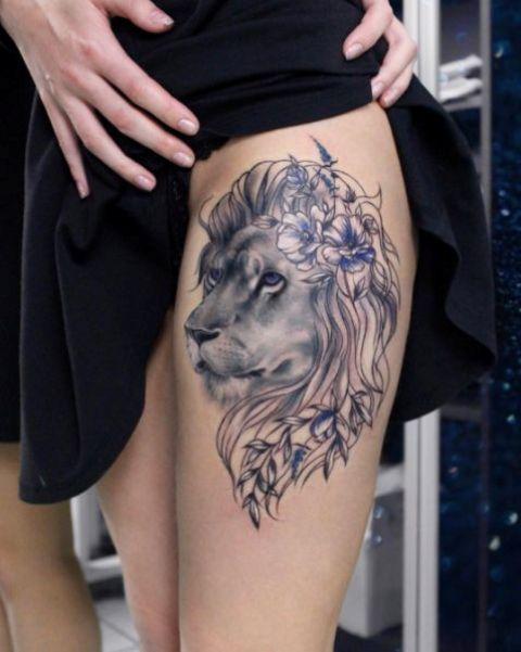 Lion Tattoo For Women : tattoo, women, Awesome, Tattoo, Ideas, Women, Styleoholic
