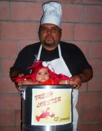 Picture Of Halloween chef costume idea and lobster costume ...