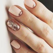 glitter manicure ideas winter